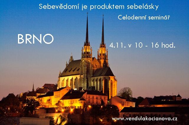 Brno – Sebevědomí je produktem sebelásky – celodenní seminář
